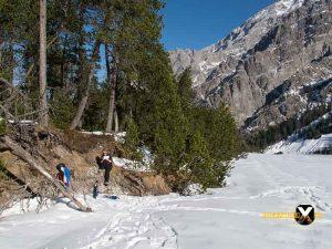 Schneeschuh tour Wimbachgries Berchtesgaden Ramsau Berchtesgadener Land 22 300x225 - Schneeschuhtour - Berchtesgadener Land - Wimbachgries