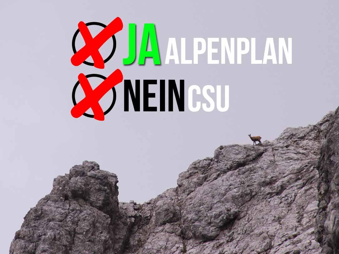 """[:de]Ein """"Alp""""traum namens CSU #Alpenplan[:]"""