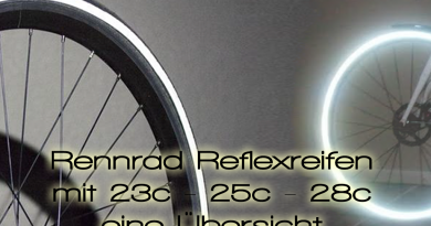 Rennradreifen mit Reflex uebersicht Road bike tires with reflection rim 390x205 - Road bike Tires with Reflection