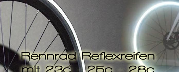 Rennradreifen mit Reflex uebersicht Road bike tires with reflection rim 696x279 - Rennradreifen mit Reflexstreifen - RR reifen reflex