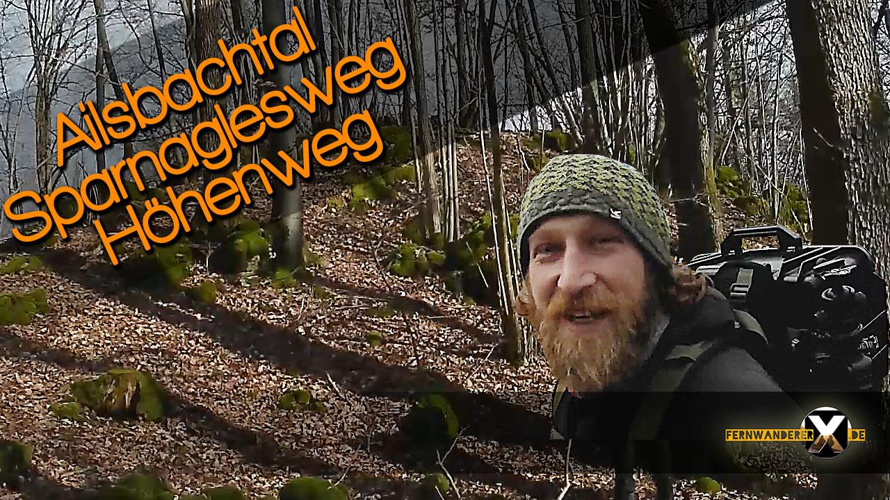 Wandern in Ailsbachtal Gemeinde Ahorntal_Ailsbachtal Fränkische Schweiz Wanderwege Sparnaglesweg Wanderweg